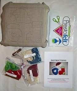 Christmas kit mitten hat stocking