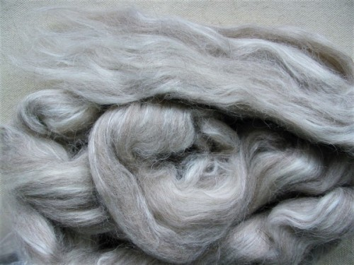 gray alpaca/silk top