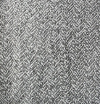 white/gray herringbone