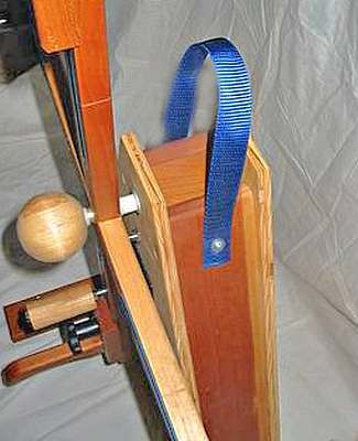 skein winder carrying strap