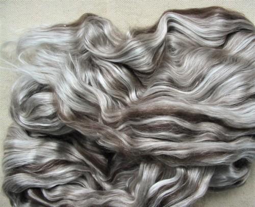 dark brown yak/silk top