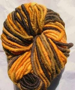 Costswald Yarn : Tiger Stripe